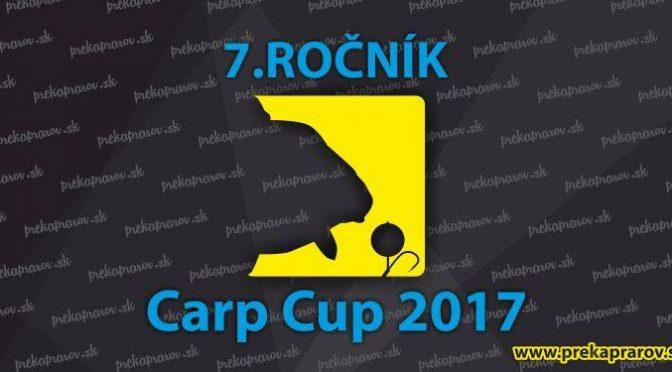 7.ROČNÍK PREKAPRAROV.SK CARP CUP 2017- PRIEBEH SÚŤAŽE